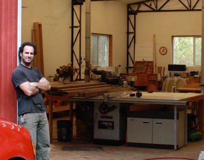 Phoenix Rain Woodworking Shop cabinets and furniture on lopez island washington 98261