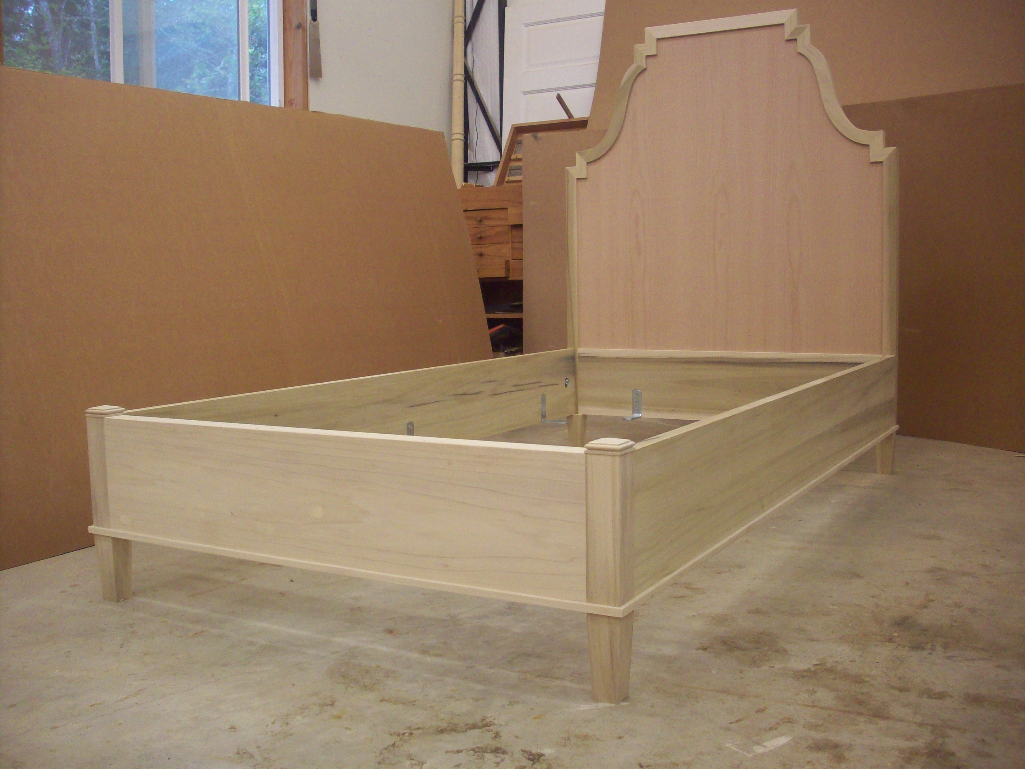 French Colonial Twin Bed
